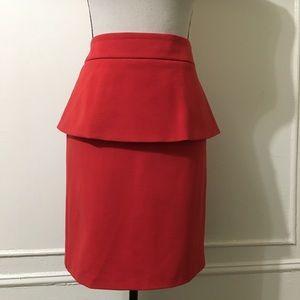 Cynthia Rowley Red Skirt